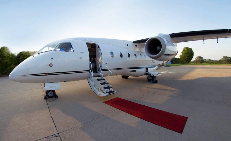 Dornier Jet Red Carpet Image Enhanced