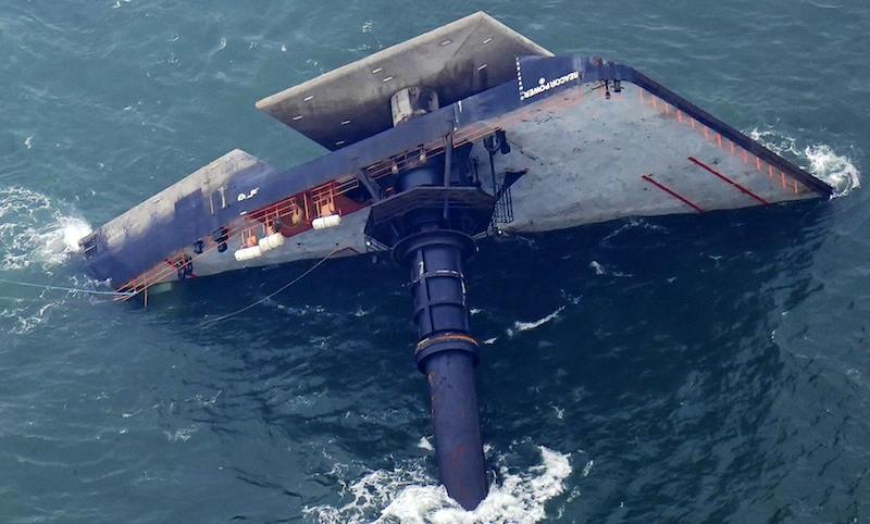 Louisiana Overturned Boat