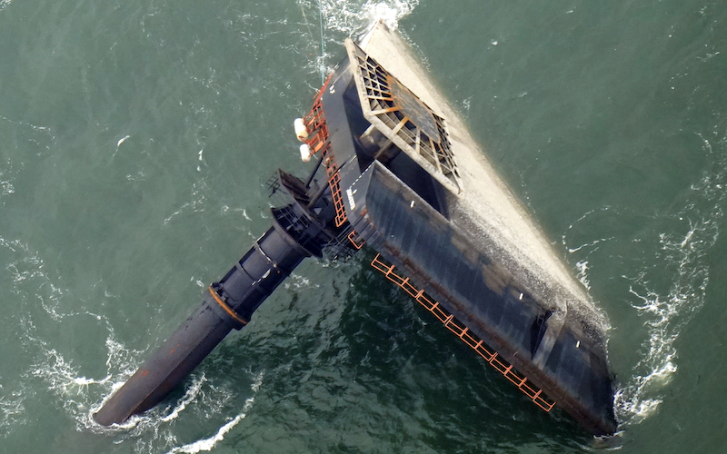 Overturned Boat