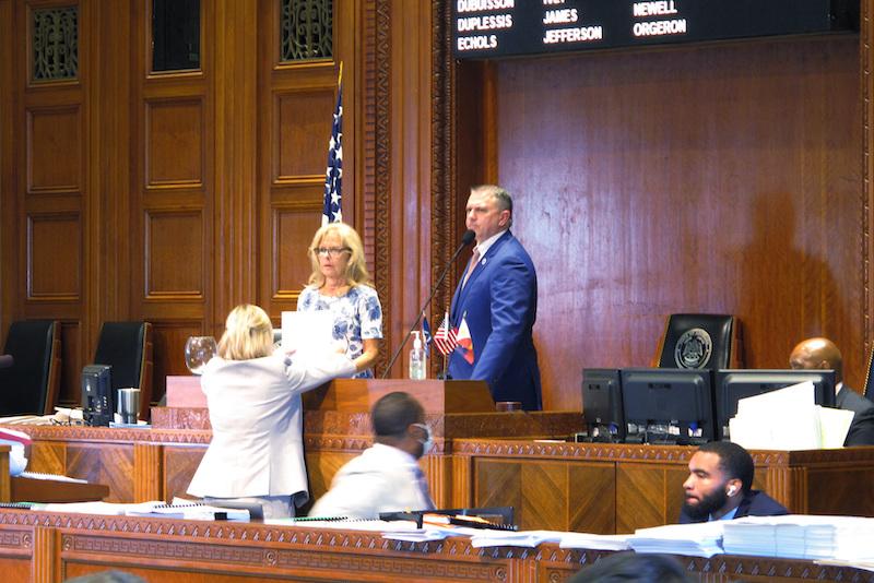Louisiana Session Ends