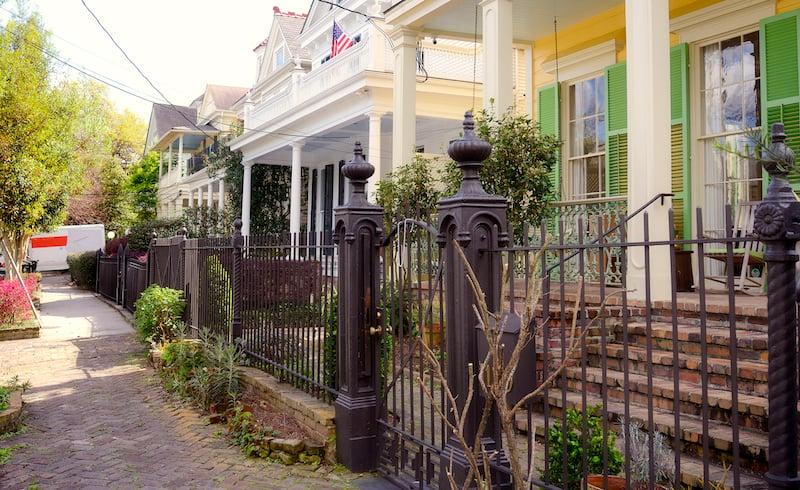 Homes, New Orleans, Louisiana.