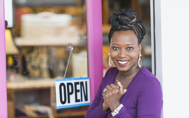 African American Female Small Business Owner