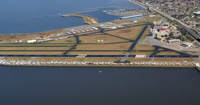 5 Lakefront Airport Aerial By Gracen Jules