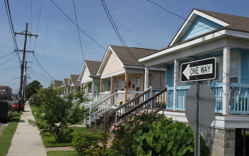Lower Ninth Ward Homes In New Orleans
