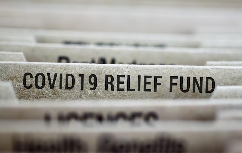 Covid 19 Relief File Folder