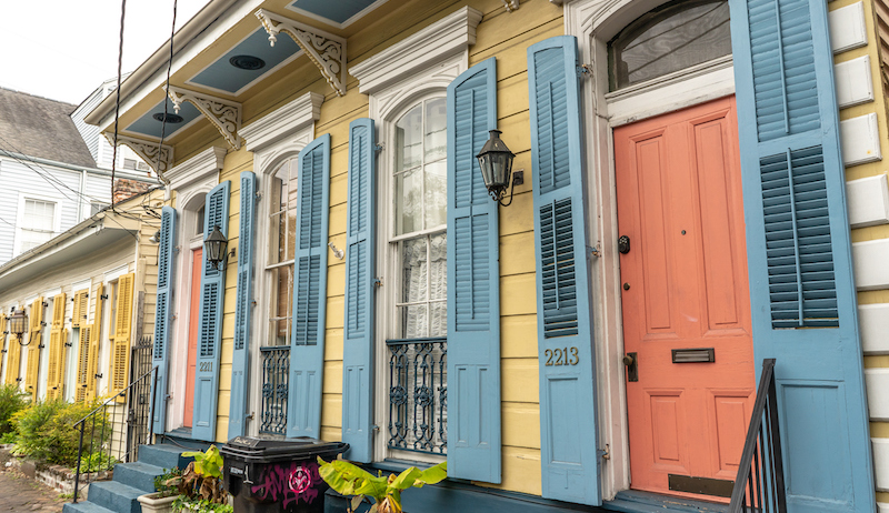 Beautiful Home In The Marigny Neighborhood In New Orleans