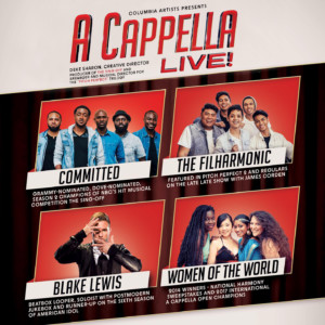 A Cappella Live @ McGlohon Theater at Spirit Square |  |  |