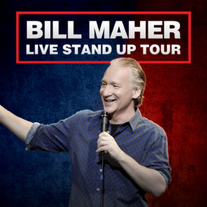 Bill Maher @ Belk Theater at Blumenthal Performing Arts Center | Charlotte | North Carolina | United States