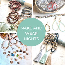 Make and Wear Night – Hoop Earrings @ Beads Incorporated |  |  |