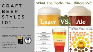 Beer Education Night: Beer Styles 101 @ Pilot Brewing | | |