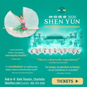 Shen Yun Performance at Belk Theater @ Belk Theater at Blumenthal Performing Arts Center | Charlotte | North Carolina | United States