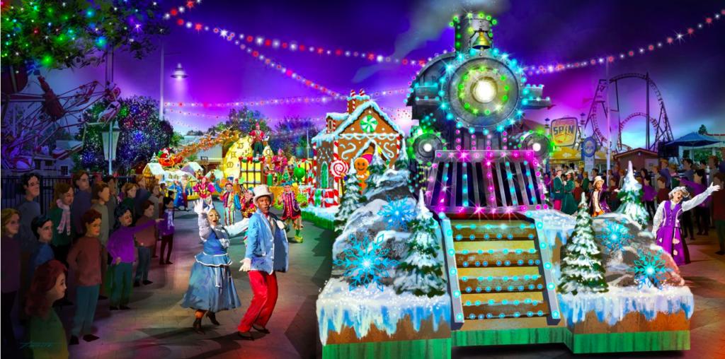 carowinds winterfest parade
