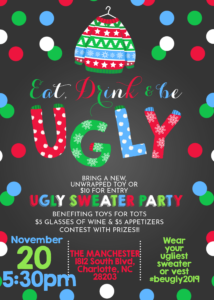 UGLY SWEATER Holiday Party @ The Manchester |  |  |
