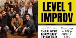 Adult Level 1 Improv Classes: 6 Week Sessions at CCT @ Charlotte Comedy Theater | | |