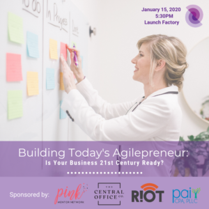 Building Today's Agilepreneur: Is Your Business 21st Century Ready? @ Launch Factory |  |  |