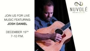 Live Music featuring Josh Daniel @ Nuvole Rooftop TwentyTwo        