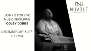 Live Music featuring Colby Dobbs @ Nuvole Rooftop TwentyTwo        