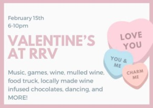Valentine's Day at RRV @ Rocky River Vineyards | | |