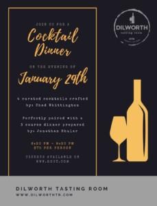 Dilworth Tasting Room Cocktail Dinner @ Dilworth Tasting Room | | |