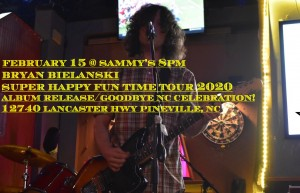 Bryan's Super Happy Fun Time Tour! @ Sammy's | | |