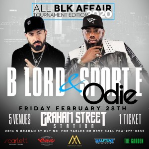 THE 3RD ANNUAL ALL BLK PARTY AT GRAHAM ST STATION @ Graham Street Station  |  |  |
