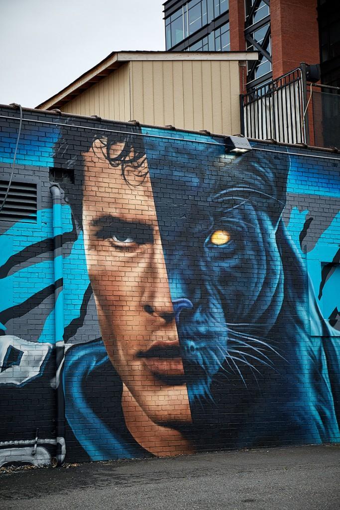 Luke Mural