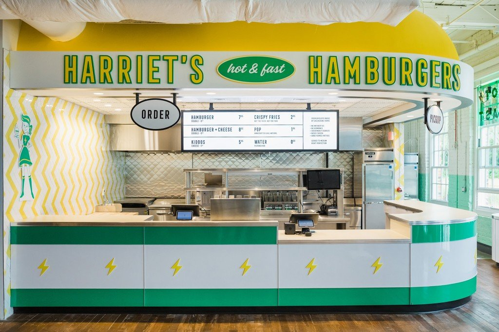 Harriet's Hamburgers Optimist Hall