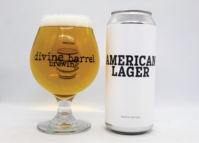 American Lager Can Draft