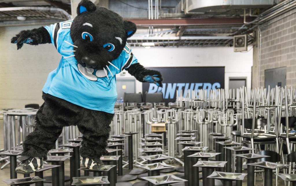 The Carolina Panthers Donated Furniture