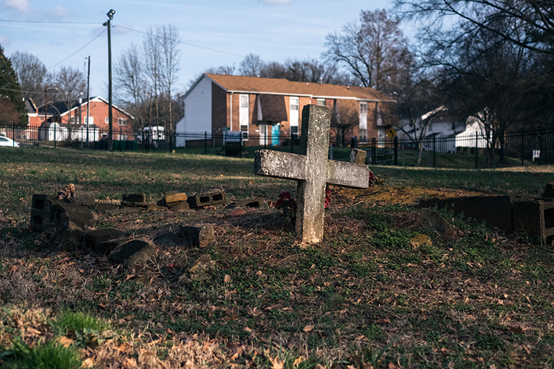 The Cemetery That Wasn T There In Biddleville Charlotte Magazine