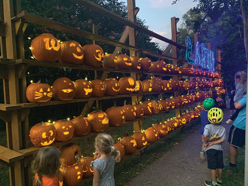 Pumpkin Wall