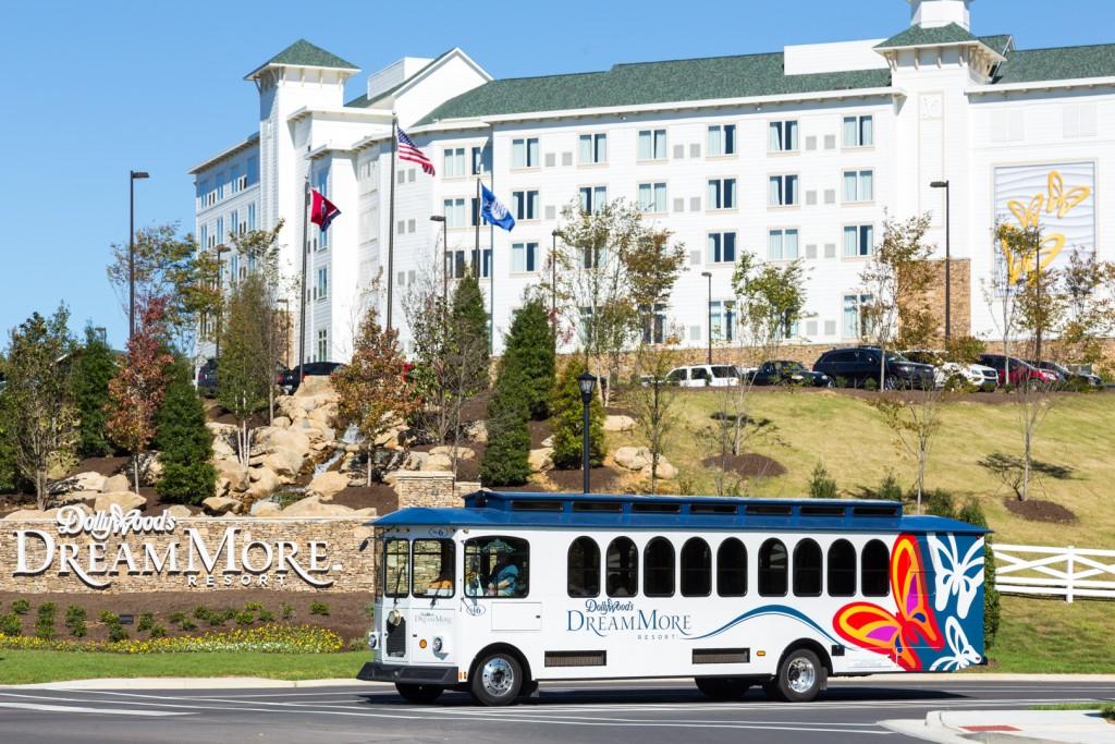 Dmr Lodging Dollywoods Dreammore Resort Resort Shuttle