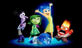 Pixar Post Inside Out Characters Closeup