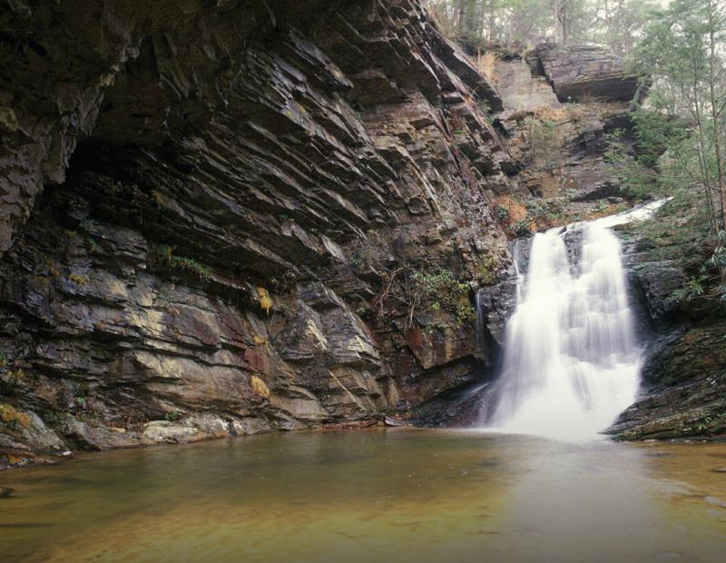 Ncpix Hanging Rock State Park Waterfall