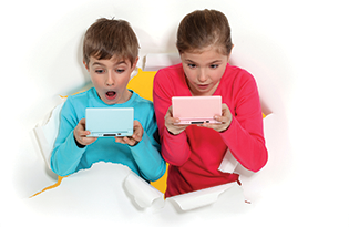 Bigstock Children Playing Handheld Comp 25834733