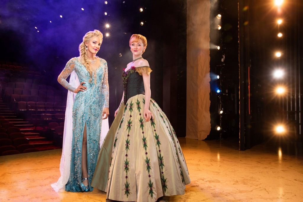 3 Duo Caroline Bowman As Elsa And Caroline Innerbichler As Anna Photo By Matthew Murphy For Murphymade Scaled