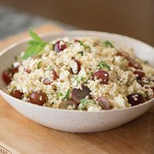 12095 Grape Feta And Mint Quinoa Salad