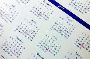 Calendar 315