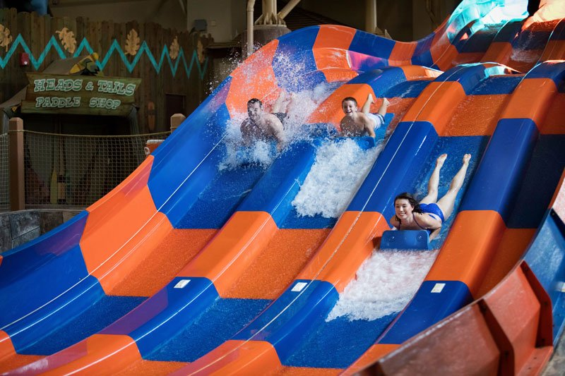 Water Slide At Great Wolf Lodge