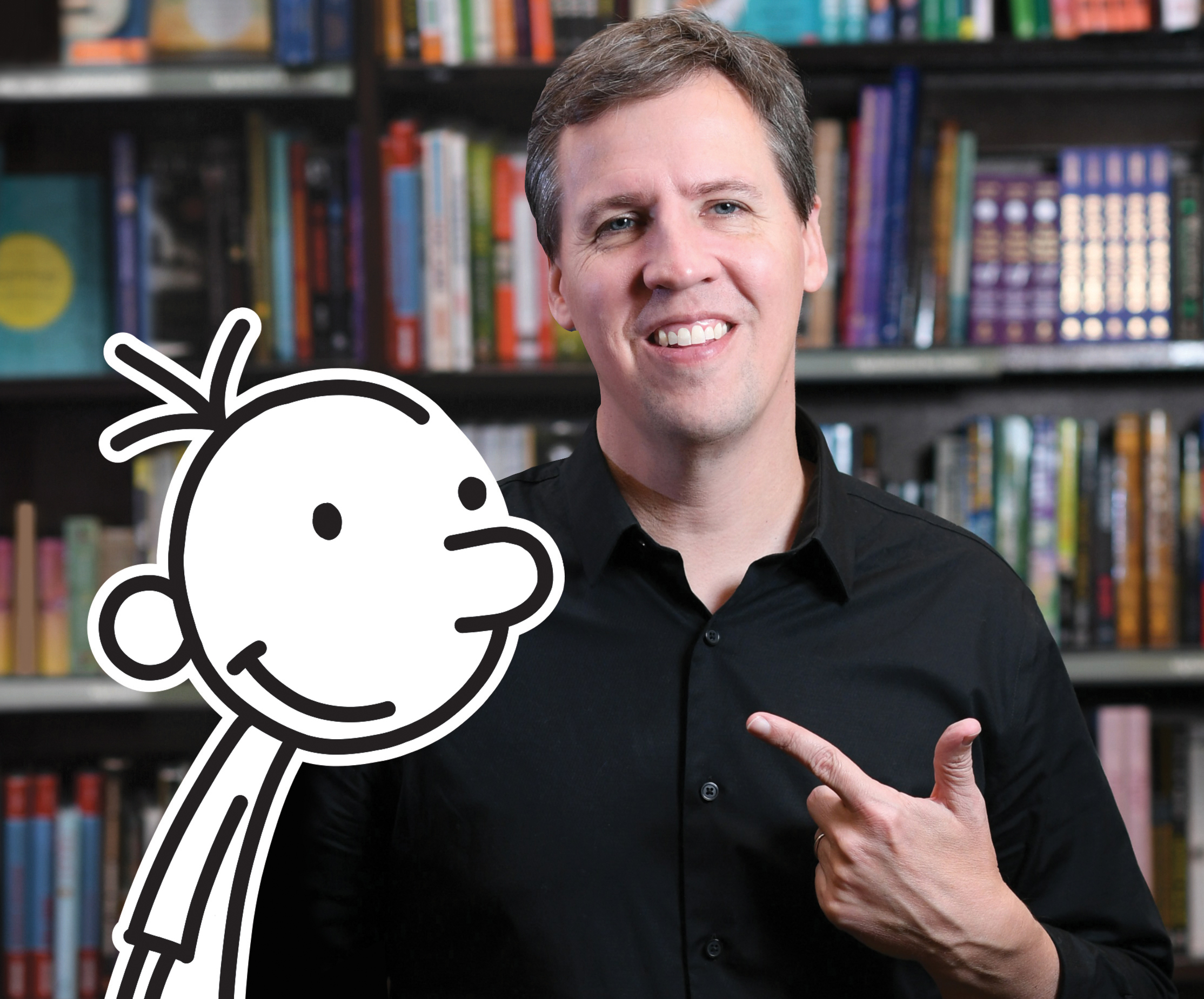 Q A Diary Of A Wimpy Kid Author Talks N C Appearances New Book Charlotte Parent