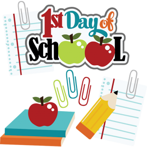 First Day Of School Clipart 1 300x300