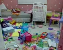 Messy Kid S Room