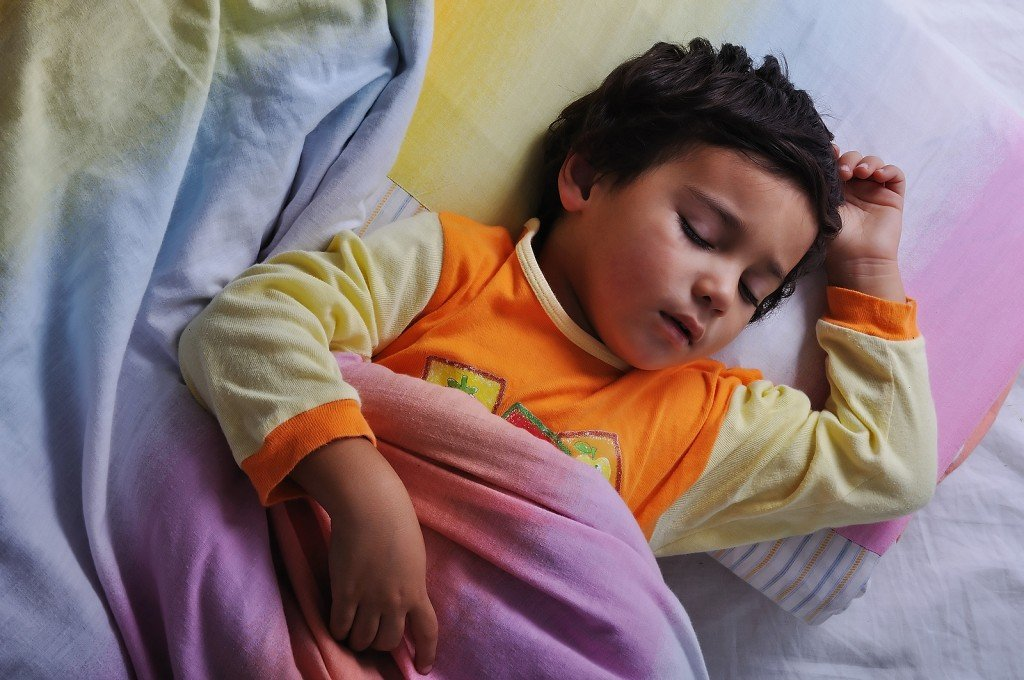 Bigstock Child Asleep In Bed Dark 15436916