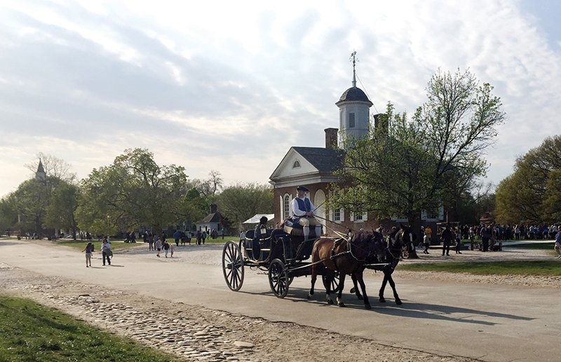 Colonial Williamsburg Photo By Myra Wright