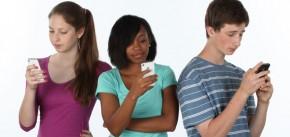 Teens Phones Text Technology