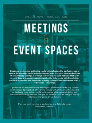 Meeting Spaces 2019