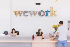 WeWork at The Hub
