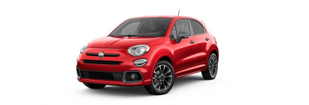 2020 Fiat 500x Front Ext
