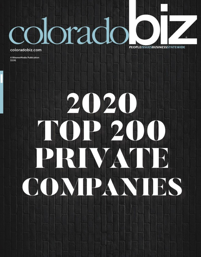 2020 Top 200 Private Companies Plaque Cover