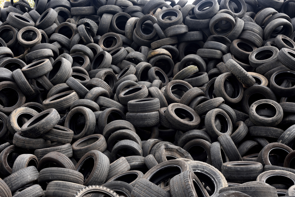 Recycling,tires